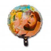 Фольгированный шарик Три богатыря