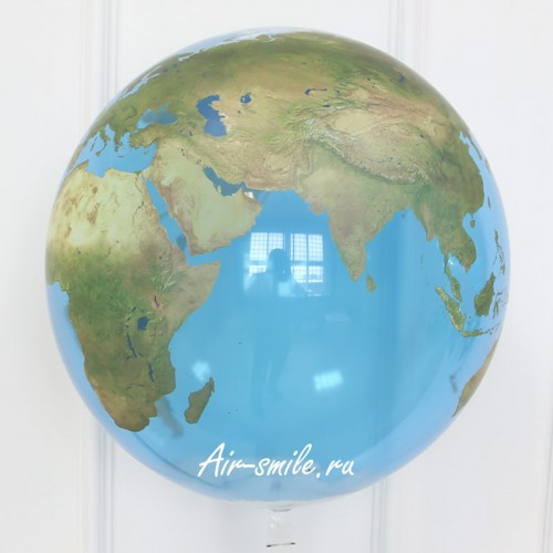 Шар баблз планета земля
