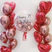 "Набор шаров для девушки ""Моя валентинка"""