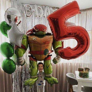 Воздушные шары на день рождения Черепашки ниндзя