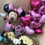 Сет воздушных шаров для девушки с Минни маус