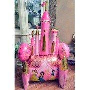 Ходячий шар замок принцесс
