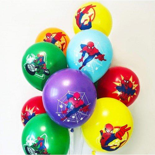 Латексные шары Человек-Паук