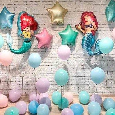 Украшение шарами воздушными детского праздника