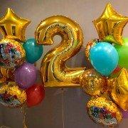 """Набор шаров из коллекции Три кота """"Второй день рождения"""""""