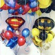 Набор воздушных шаров с супергероями