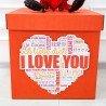 Воздушные шары для влюбленных в коробке 1