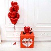 """Воздушные шары для влюбленных """"Бесконечная любовь"""""""