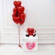"""Воздушные шары на 14 февраля """"Моя любовь"""""""
