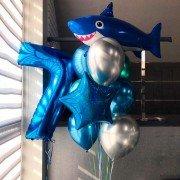 """Комплект шаров морской """"Добрая акула"""""""