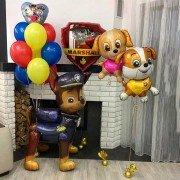 """Комплект шаров щенячий патруль """"Команда героев"""""""