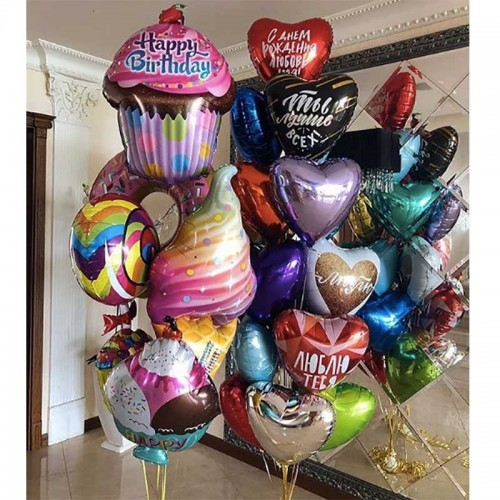 Набор шаров со сладостями