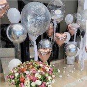 """Украшение шарами на 14 февраля """"Невесомость"""""""