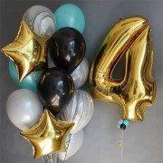 """Сет с шарами агатами """"Твой день рождения"""""""