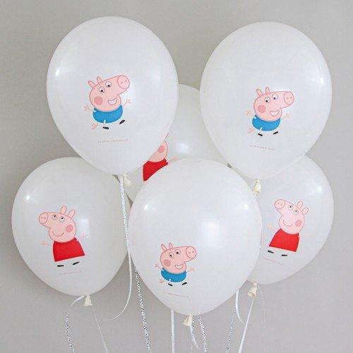 Воздушные шарики Свинка Пеппа