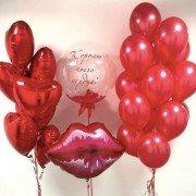 """Комплект шаров для влюбленных """"Нежный поцелуй"""""""