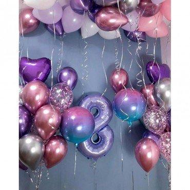 Украшение детского праздника воздушными шариками