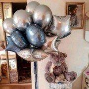 """Фонтан шаров """"Грозовые облака"""""""