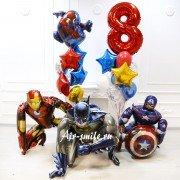 Шарики для мальчика на 8 лет с супергероями