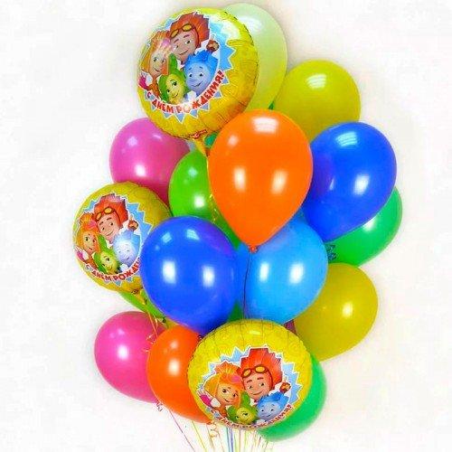 Сет шаров воздушных с фиксиками