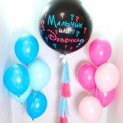Комплект шаров с фонтанами Мальчик или Девочка