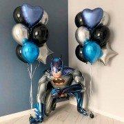 """Комплект шаров """"Бэтмен супергерой"""""""