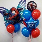 """Комплект шаров супергерои """"Человек паук"""""""