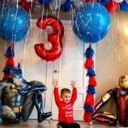 """Набор шаров на день рождения """"Вечеринка супергероев"""""""