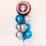"Набор шаров ""Щит Капитана Америка"""