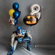 Сет шаров в стиле супергерои с Бэтменом
