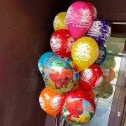 """Комплект шаров с Ми-ми-мишками """"С Днем Рождения"""""""