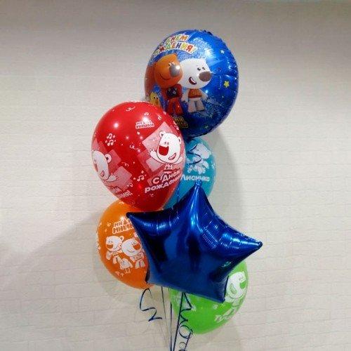 Набор шариков воздушных с мимимишками