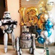 """Воздушные шары Звездные войны """"Золотая эпоха"""""""