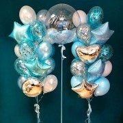 """Комплект фонтанов из шаров """"Маленький принц"""""""