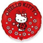 Воздушный шар Сердце, Hello Kitty, Котенок божья коровка