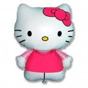 Воздушный шар Hello Kitty Котенок с бантиком