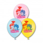 Воздушные шарики с изображением фиксиков
