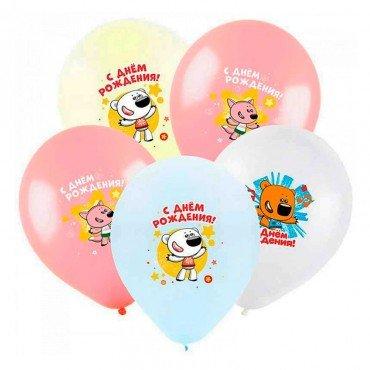 Воздушные шарики на день рождения с мишками мимимишками