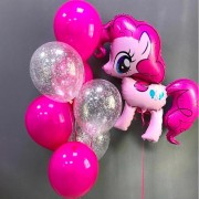 """Комплект шаров""""Моя маленькая пони"""""""