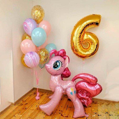 Шарики воздушные с Литл Пони на день рождения