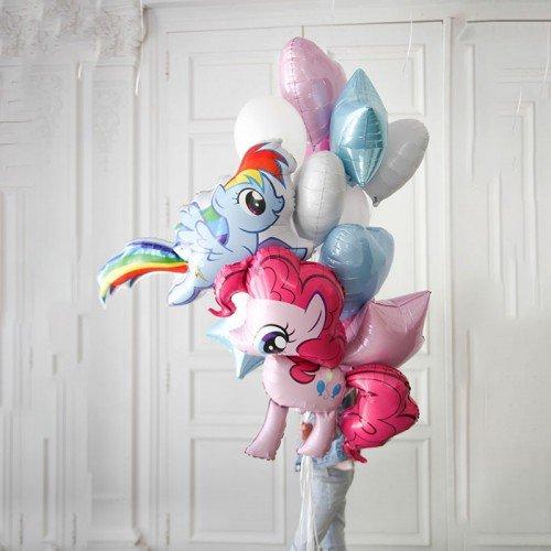 Набор воздушных шариков с Литл Пони в подарок