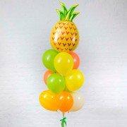 """Комплект шаров из коллекции фрукты """"Сочный ананас"""""""