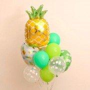 "Сет шаров из коллекции фрукты ""Желтый ананас"""