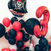 """Сет воздушных шаров на 3 года """"Пираты"""""""