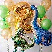 """Набор шаров """"Страна динозавров"""""""