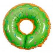 """Шар фигура """"Пончик"""" зеленый 74 см"""