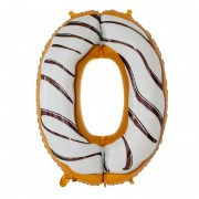 "Шар-цифра ""0"" пончик 86 см"