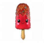 "Шар ""Мороженое эскимо"" красное 84 см"