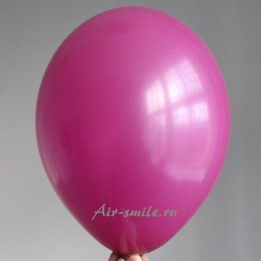 Гелиевый шарик виноградно фиолетового цвета