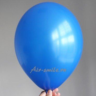 Гелиевый шарик королевского синего цвета
